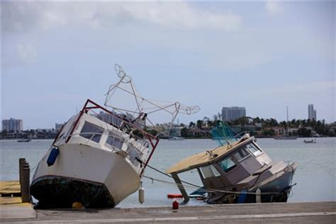 Boat Insurance And Hurricanes by About 63 000 Recreational Boats Damaged Due To Hurricanes