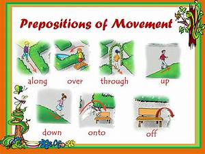 Prepositions of Movement - ppt download
