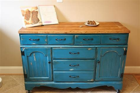 Awesome Upcycle  Dresser To Kitchen Island Buffet
