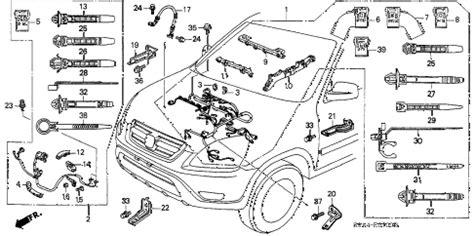 honda store 2004 crv engine wire harness parts