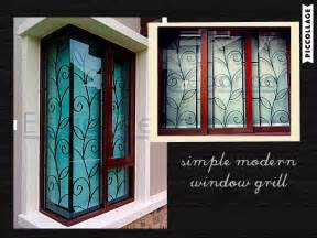 interior model homes the simple n modern design of this window grill heartwarming homes window