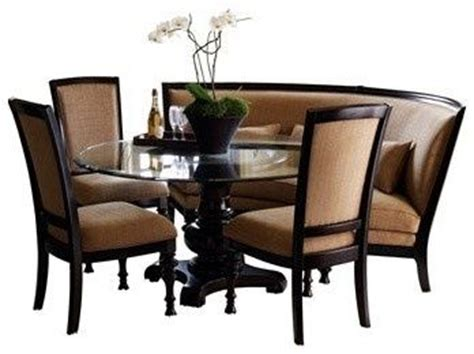 curved settee for dining table curved dining settee pretty fabulous dining table