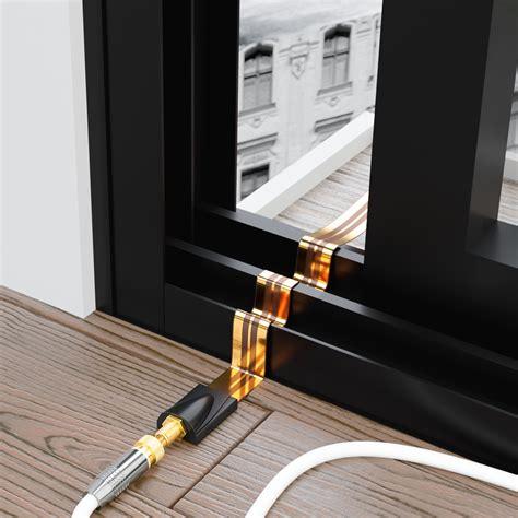 Sat Kabel Flach Deleycon Fensterdurchf 252 Hrung Sat Kabel 17cm Flexibel 26cm L 228 Nge Extrem Flach Kupfer 2 Sets