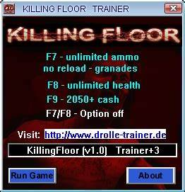 killing floor trainer 3 10 drolle download With killing floor trainer
