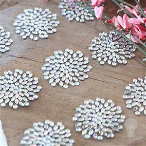 firework self adhesive crystals sheet of 9 imagine diy With diy wedding invitations glue