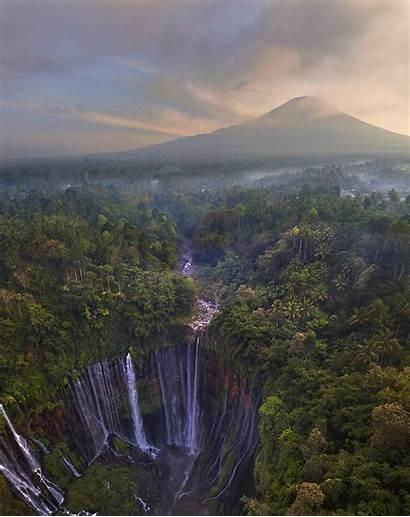Waterfall Sewu Indonesia Tumpak