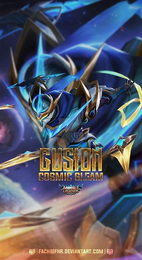 gusion cosmic gleam  fachrifhr  deviantart