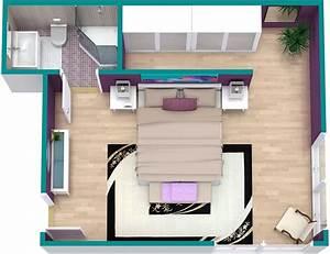 bedroom floor plan roomsketcher With bed room designs ideas plans