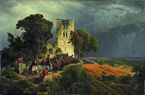 siege baumann file carl friedrich lessing the siege defense of a