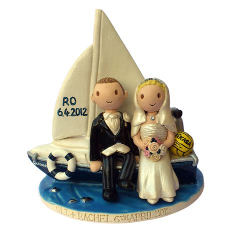 Sailboat Cake Topper by Sailboat Cake Topper