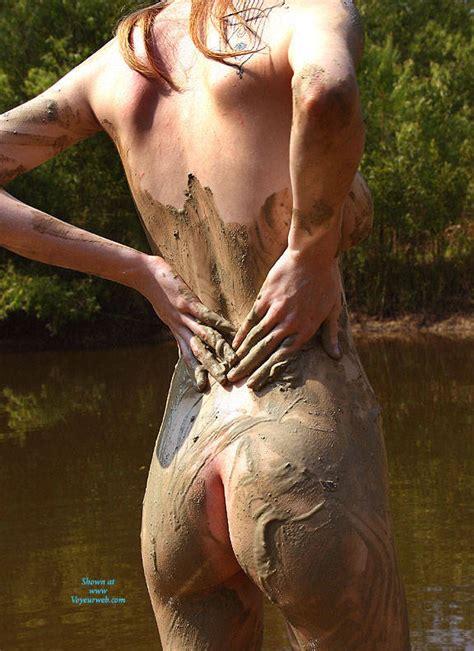 Pond Play Mud April Voyeur Web