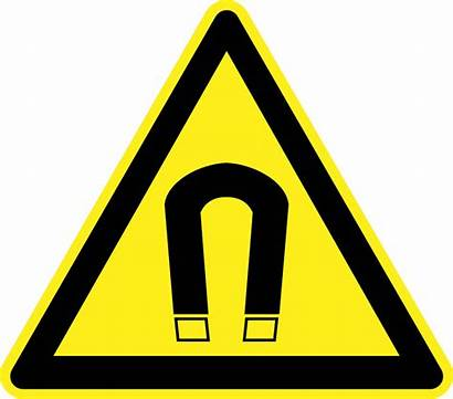 Warning Signs Hazard Magnetic Clipart Field Label