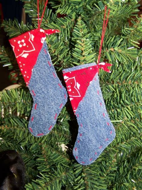 cent usa sh  country christmas western stocking