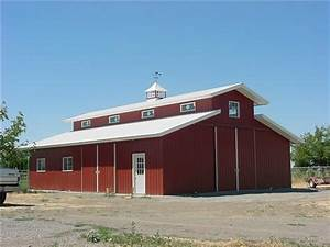 Agricultural Pole Building Horse Barns and Arenas