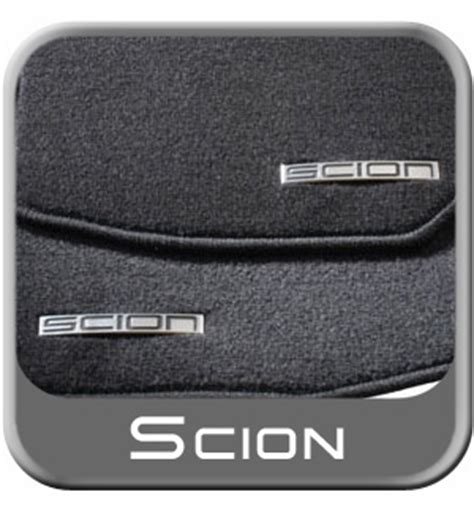 new 2003 2007 scion xb carpeted floor mats from