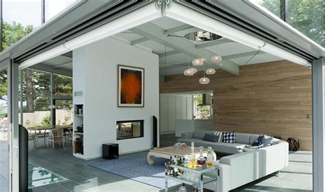 cuisine verri鑽e separation cuisine salon vitree maison design bahbe com