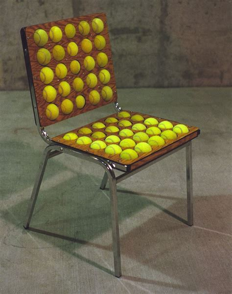 tennis ball chair  steps  pictures
