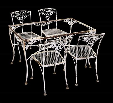 iron man table l vintage iron dining room table chairs dining room table