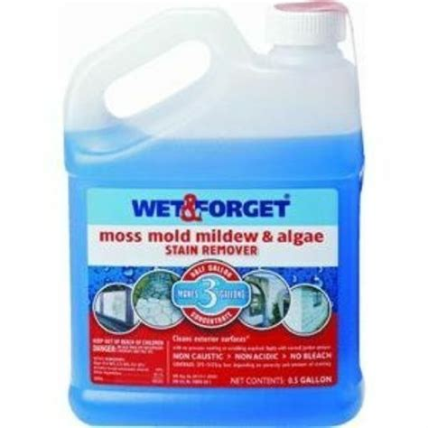 wet  forget  wet  forget moss mold mildew
