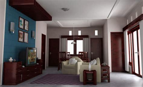 contoh gambar desain interior ruangan rumah sederhana