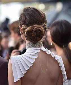 El recogido con trenza XXL de Olivia Wilde Los mejores peinados de los Oscar 2016 TELVA