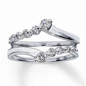 Gold wedding rings gold diamond ring enhancers for Wedding ring enhancers