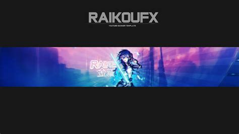 Anime Channel Banner Template Sword 2 Anime Banner By Raikoufx On