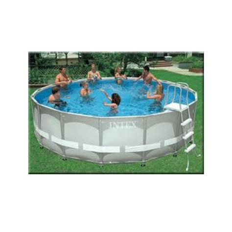 intex ultra frame above ground swimming pool 16ft x 48 quot