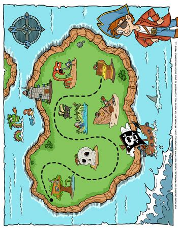 pirate treasure map tims printables