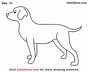 How To Draw A Dog For Kids Step By Click The Play Button ...