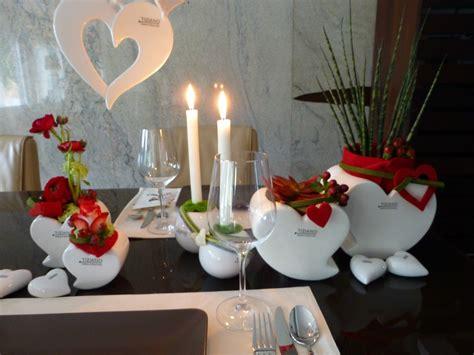 Klassische Tischdeko Zum Valentinstag  Tiziano Design