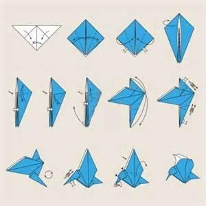 Origami Kranich Anleitung : origami oiseaux ~ Frokenaadalensverden.com Haus und Dekorationen