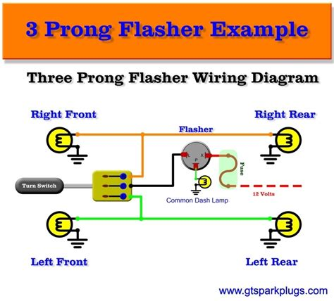 wiring diagram 3 pin flasher relay 3 pin flasher relay wiring diagram fuse box and wiring