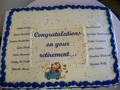 writing retirement cake imagesjpg  comments  res p hd