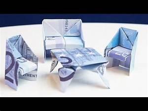 Neue Wohnung Geschenk : geschenk zum einzug tisch aus geld falten youtube geldgeschenke pinterest geschenke ~ Markanthonyermac.com Haus und Dekorationen