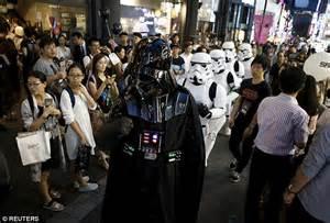 disney unveils hundreds   star wars toys  force
