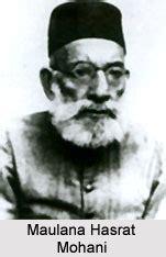 maulana hasrat mohani indian freedom fighter