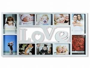 Großer Bilderrahmen Für Viele Fotos : bilderrahmen fotorahmen love herz f r 10 fotos bilder herzform wei ebay ~ Bigdaddyawards.com Haus und Dekorationen