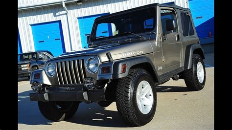 jeep wrangler zubehör davis autosports 2005 jeep wrangler rubicon tj 61k for sale