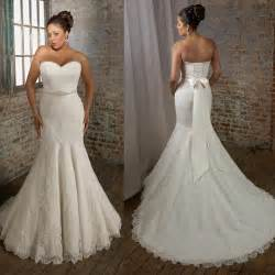 strapless mermaid wedding dresses plus size sweetheart strapless mermaid wedding dresses ipunya