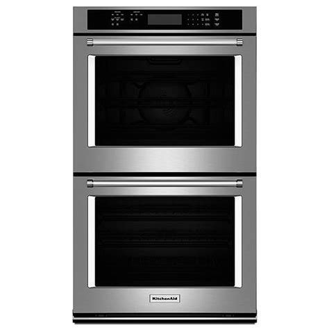 "KitchenAid 30"" Stainless Double Wall Oven KODE300ESS"