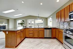 luxury kitchen design ideas custom cabinets part 3 With what kind of paint to use on kitchen cabinets for print custom stickers