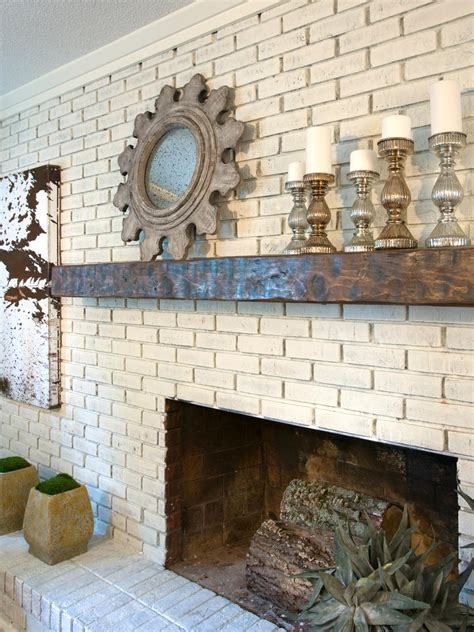 gorgeous painted brick fireplaces hgtv s decorating design blog hgtv