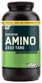 Superior Amino 2222 (320 Tablets) by Optimum Nutrition at ...