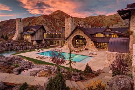 mountain home with views of the wasatch range utah