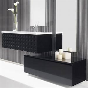 Meuble Tiroir Salle De Bain : meuble salle de bain 100 cm 1 tiroir vasque composite ~ Edinachiropracticcenter.com Idées de Décoration
