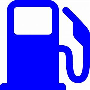 Free blue gas station icon - Download blue gas station icon