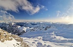 Wallpaper Bavaria Germany Winter Nature Mountains Snow
