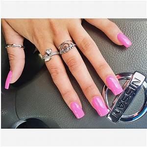 Modele Ongle Gel : modele ongle en gel rose fluo ~ Louise-bijoux.com Idées de Décoration