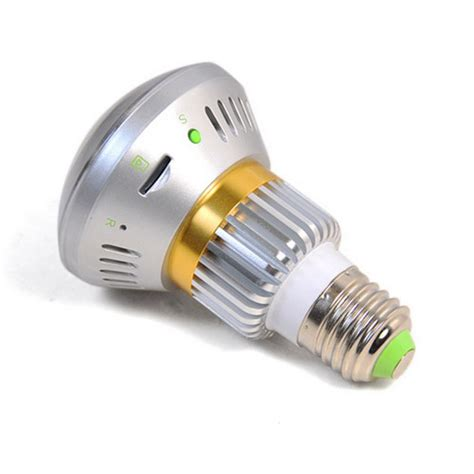 wireless bulb dvr with invisible ir light